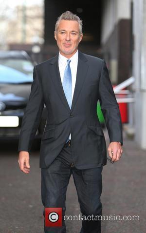 Martin Kemp - Martin Kemp outside ITV Studios - London, United Kingdom - Monday 3rd February 2014