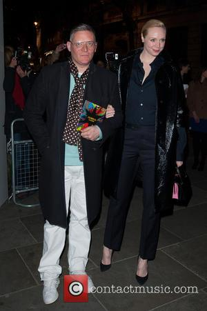 Giles Deacon and Gwendoline Christie - David Bailey: Bailey's Stardust - VIP private view held at the National Portrait Gallery...