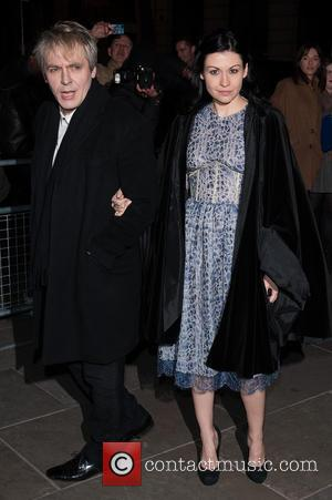 Nick Rhodes and Nefer Suvio - David Bailey: Bailey's Stardust - VIP private view held at the National Portrait Gallery...