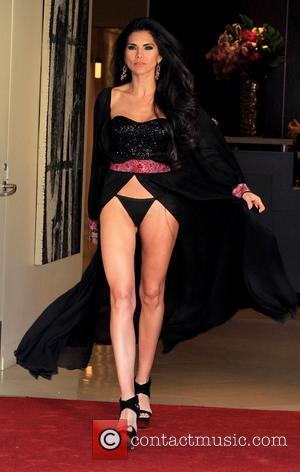 Joyce Giraud - Joyce Giraud on a photo shoot for Naluda magazine cover on location at the Luxe Hotel on...