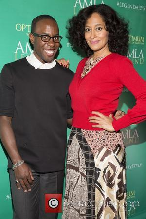 Johnny Wright and Tracee Ellis Ross