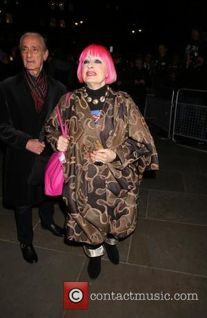 Zandra Rhodes - Bailey's Stardust - Exhibition of images by David Bailey supported by Hugo Boss at the National Portrait...