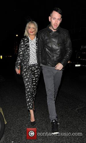 Sarah Harding and Mark Foster