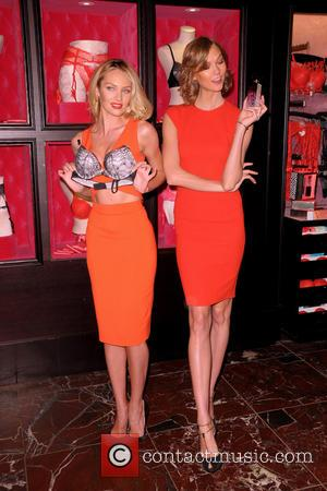 Candice Swanepoel and Karlie Kloss