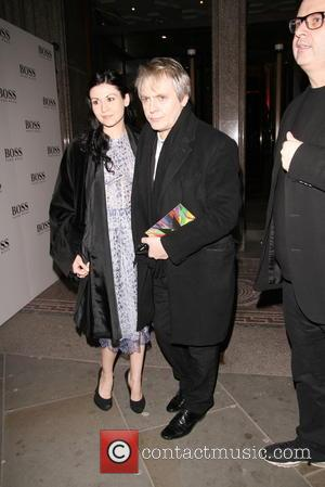 Nick Rhodes - Kate Moss arrives fashionably late to Bailey's Stardust Exhibition - London, United Kingdom - Tuesday 4th February...