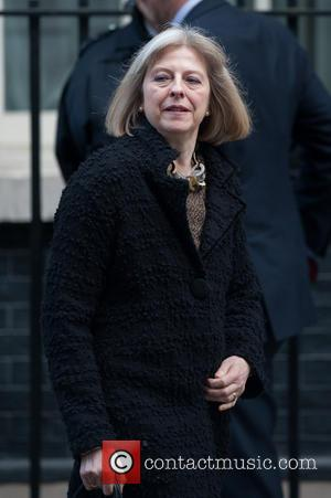 Theresa May - Ministers leave 10 Downing Street after Cabinet meeting. - London, United Kingdom - Tuesday 4th February 2014
