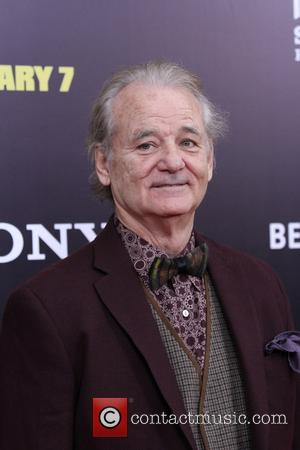 Bill Murray - Premiere of 'The Monuments Men' held at the Ziegfeld Theater - Arrivals - New York, New York,...