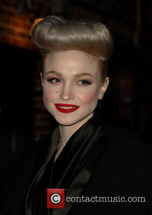 Ivy Levan - 'The Late Show with David Letterman' at the Ed Sullivan Theater - New York, New York, United...