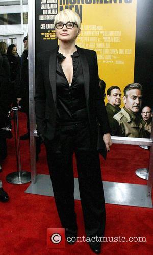 Ellen Barkin - Premiere of 'The Monuments Men' held at the Ziegfeld Theater - Arrivals - New York City, New...