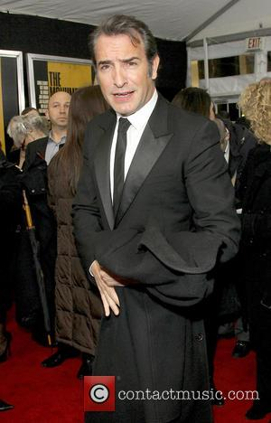 Jean Dujardin - Premiere of 'The Monuments Men' held at the Ziegfeld Theater - Arrivals - New York City, New...