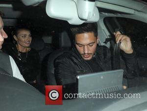 Chloe Sims and Mario Falcone - Chloe Sims and Mario Falcone on a night out at Nobu Berkeley - London,...