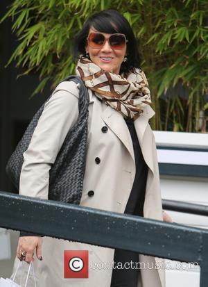 Martine McCutcheon - Martine McCutcheon outside ITV Studios - London, United Kingdom - Wednesday 5th February 2014