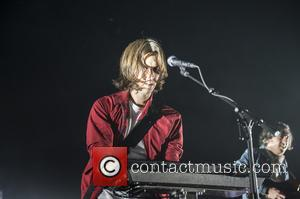 Deck D'Arcy - French rock band, Phoenix performing live on stage at Brixton Academy - London, United Kingdom - Wednesday...