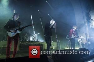 Phoenix - French rock band, Phoenix performing live on stage at Brixton Academy - London, United Kingdom - Wednesday 5th...