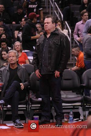 Eric Stonestreet - Wednesday February 5, 2014; Celebs out at the Clippers-Heat game. The Miami Heat defeated the Los Angeles...