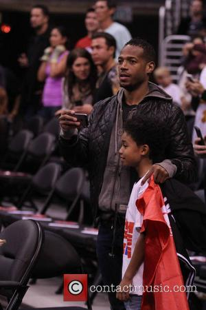 Marlon Wayans - Wednesday February 5, 2014; Celebs out at the Clippers-Heat game. The Miami Heat defeated the Los Angeles...