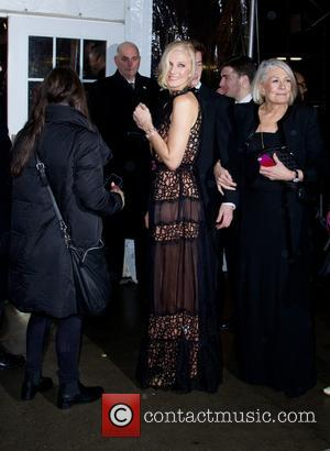 Joely Richardson - 2014 amfAR New York Gala at Cipriani Wall Street - Outside Arrivals - New York City, New...