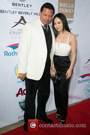 Terrance Howard and Miranda Howard