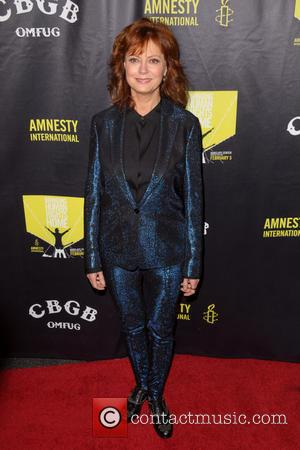 Susan Sarandon - CBGB Festival Presents Amnesty International Concert held at the Barclays Center - Arrivals - New York City,...