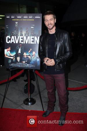 Chad Michael Murray - Los Angeles premiere of 'Cavemen' held at the ArcLight Hollywood - Los Angeles, California, United States...