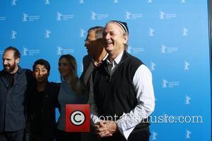 Ralph Fiennes (l-r), Tony Revolori, Saoirse Ronan and Jeff Goldblum
