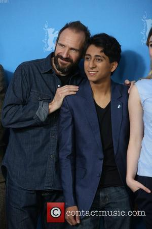 Ralph Fiennes (l) and Ralph Revolori - 64th Berlin International Film Festival - The Grand Budapest Hotel - Photocall -...