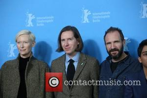 Tilda Swinton, Ralph Fiennes and Wes Anderson