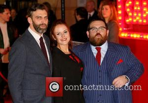 James Griffiths, Nira Park and Nick Frost
