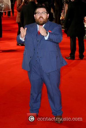 Nick Frost - The World Premiere of Cuban Fury at The Vue Cinema, Leicester Square - London, United Kingdom -...