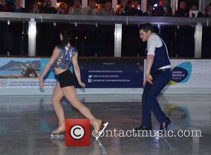 Dancing On Ice and Matt Lapinskas