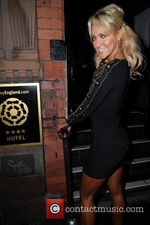 Natalie Lowe - Strictly Come Dancing afterparty held at Velvet - Arrivals - Manchester, United Kingdom - Thursday 6th February...