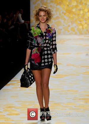 Erin Heatherton - DESIGUAL Fashion Show at the Theater in Lincoln Center in New York City - New York City,...