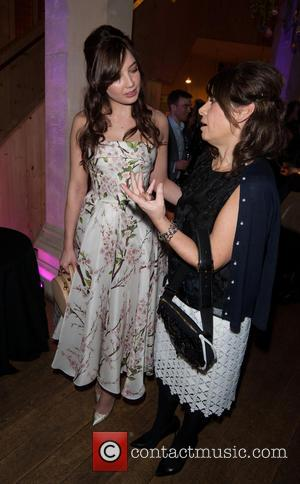 Daisy Lowe and Alexandra Shulman - Fashion & Gardens - private view held at the The Garden Museum. - London,...