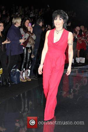 Joan Jett - New York Fashion Week - Go Red For Women - The Heart Truth Red Dress Collection 2014...