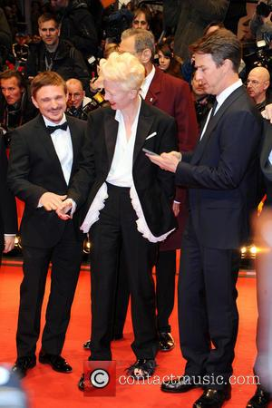 Florian Lukas, Tilda Swinton and Edward Norton