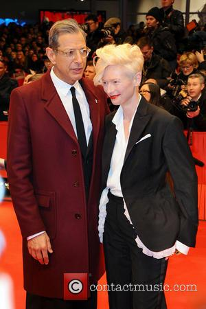 Jeff Goldblum and Tilda Swinton