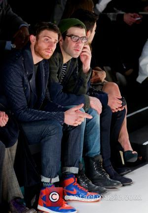 Zachary Quinto - Richard Chai Fall 2014 Collection Runway Show at the Salon in Lincoln Center in New York City...