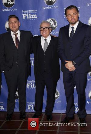 Jonah Hill, Martin Scorsese and Leonardo Dicaprio