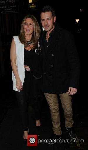 Ashley Taylor Dawson and Wife - Strictly Come Dancing afterparty held at Velvet - Arrivals - Manchester, United Kingdom -...