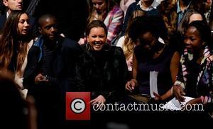 Vanessa Williams - Carmen Marc Valvo 2014 Fashion Show in Theatre at Lincoln Center in New York City - New...