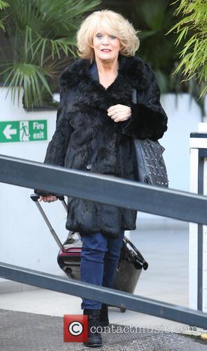 Sherrie Hewson - Sherrie Hewson outside ITV Studios - London, United Kingdom - Friday 7th February 2014