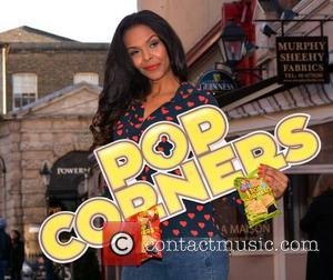 Samantha Mumba - Pop comeback queen Samantha Mumba launches Tayto Popcorners with Mr Tayto on South William Street... - Dublin,...
