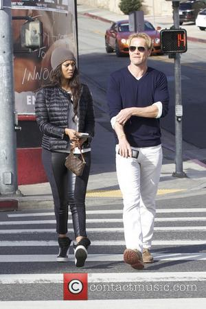 Tyra Banks and Erik Asla - Tyra Banks and new boyfriend Erik Asla out for lunch at Pearl's restaurant in...