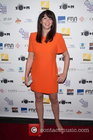 Suzi Perry - Zoom photographic charity auction held at the Intercontinental, Park Lane. - London, United Kingdom - Friday 7th...
