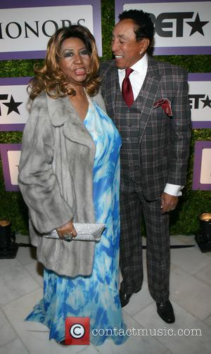 Aretha Franklin and Smokey Robinson