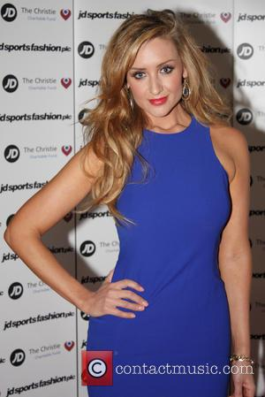 Catherine Tyldesley - JD Diamond Charity Ball hosted by JD Sports at the Hilton Hotel Manchester - Arrivals - Manchester,...
