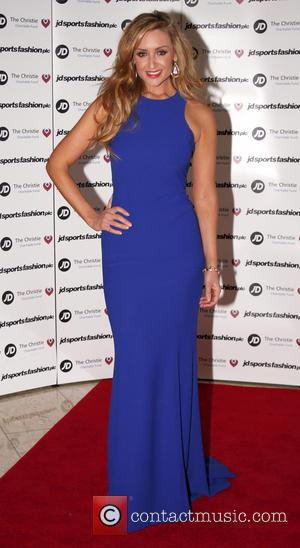 Actress Catherine Tyldesley In Car Crash