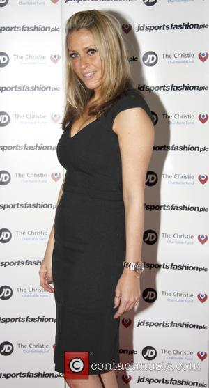 Nicole Appleton - JD Diamond Charity Ball hosted by JD Sports at the Hilton Hotel Manchester - Arrivals - Manchester,...