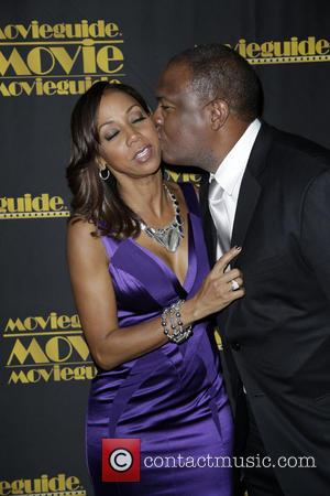 Holly Robinson Peete and Rodney Peete - 22nd Annual Movieguide Awards Gala at the Universal Hilton - Arrivals - Los...