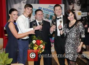 Paul Potts - Prague premiere of 'One Chance' - Prague, Czech Republic - Friday 7th February 2014